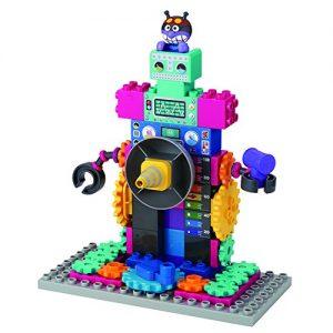 ブロックラボ ばいきんまんのくるくるメカ工場のロボット