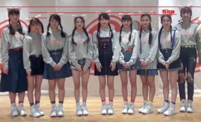 Girls²メンバーの身長比較2020年