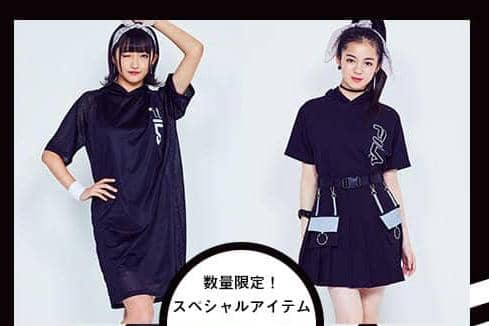 【FILA×TEGTEG cheered by Girls2】ライトオンWEB限定-桜花・來亜