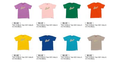 TEGTEG Girls2Tシャツ001