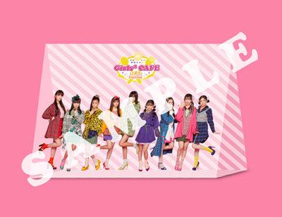 Girls²カフェ来場特典「三角クリアスタンド」
