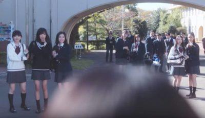 Girls²が生徒で出演「私がモテてどうすんだ」映画出演