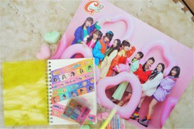 Girls²下敷き+マスキングテープ