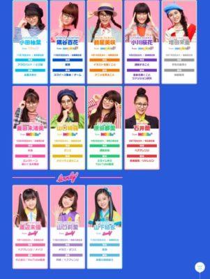 Girls²プロフィール(2020/09/22)
