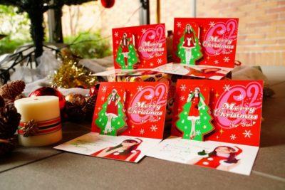 Girls²メンバーが飛び出す♪クリスマスカード2