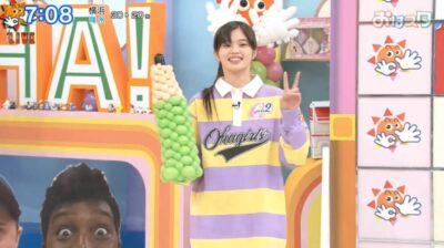 「おはスタ」おはガール原田都愛の新衣装1