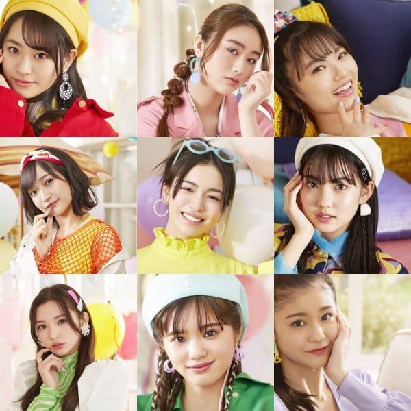 Girls2メンバープロフィール「Girls Revolution Party Time!」