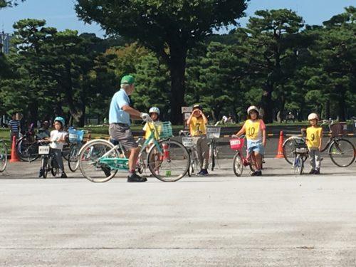 自転車教室パレスサイクリング