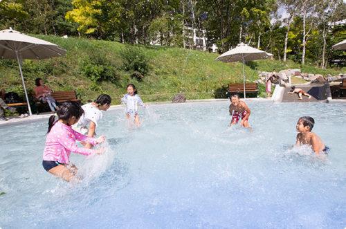 白樺リゾート池の平ファミリーランド-川ちゃぷ広場